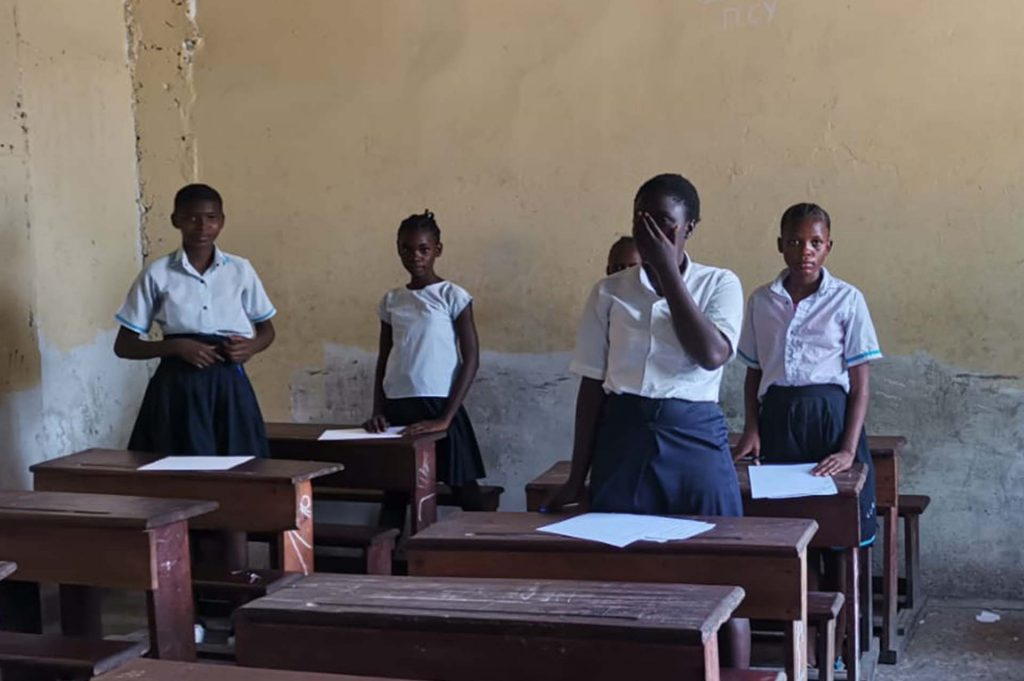 Revive Congo Primary Education Project